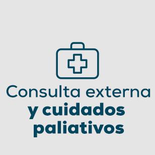 Consulta externa y cuidados paliativos